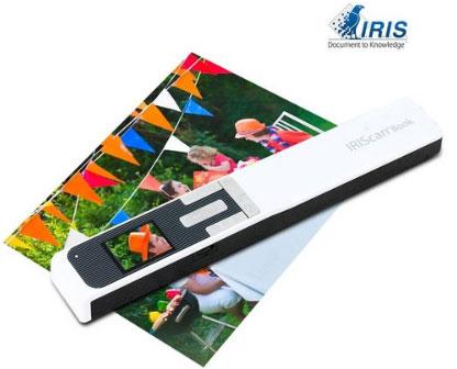 아이리스 IRIScan Book5 충전식 무선 휴대용스캐너